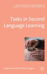 Tasks in Second Language Learning (Hardback) ISBN: 9781403911865