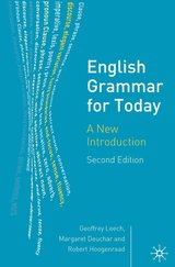 English Grammar for Today (2nd Edition) ISBN: 9781403916426