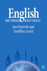 English - One Tongue, Many Voices ISBN: 9781403918291