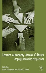 Learner Autonomy Across Cultures (Paperback) ISBN: 9781403993403