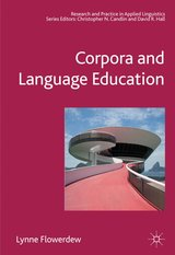 Corpora and Language Education ISBN: 9781403998934