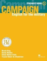 Campaign English for the Military 1 Teacher's Book ISBN: 9781405009812