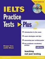 IELTS Practice Tests Plus 2 with Answer Key and Audio CDs ISBN: 9781405833127