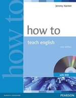 How to Teach English Book and DVD ISBN: 9781405853095