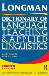 Longman Dictionary of Language Teaching and Applied Linguistics ISBN: 9781408204603