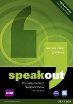 Speakout Pre-Intermediate Student's Book with DVD/ActiveBook ISBN: 9781408219324