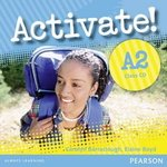 Activate! A2 Class Audio CDs (2) ISBN: 9781408224182