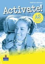 Activate! A2 Grammar & Vocabulary Book ISBN: 9781408224212