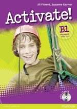 Activate! B1 Workbook with Answer Key & iTest Multi-ROM ISBN: 9781408236796