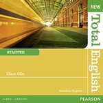 New Total English Starter Class Audio CDs ISBN: 9781408254318