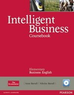 Intelligent Business Elementary Coursebook with Audio CDs ISBN: 9781408255988
