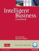 Intelligent Business Intermediate Coursebook with Audio CDs (2) ISBN: 9781408255995