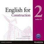 Vocational English: English for Construction 2 Audio CD ISBN: 9781408291467