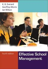 Effective School Management ISBN: 9781412900492