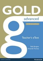 Gold Advanced (New Edition) ActiveTeach (Interactive Whiteboard Software) ISBN: 9781447907015