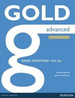 Gold Advanced (New Edition) Exam Maximiser with Key & Online Audio ISBN: 9781447907060