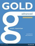 Gold Advanced (New Edition) Exam Maximiser without Key with Online Audio ISBN: 9781447907084