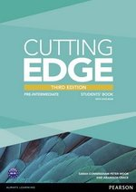 Cutting Edge (3rd Edition) Pre-Intermediate Student's Book with Class Audio & Video DVD ISBN: 9781447936909