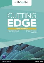 Cutting Edge (3rd Edition) Pre-Intermediate Student's Book with Class Audio & Video DVD & MyLab Internet Access Code ISBN: 9781447944058