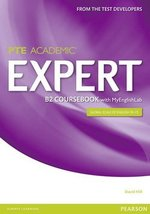 Pearson Test of English Academic (PTE) Academic B2 Expert Coursebook with MyEnglishLab ISBN: 9781447962038