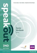 Speakout (2nd Edition) Starter Workbook with Key ISBN: 9781447977070