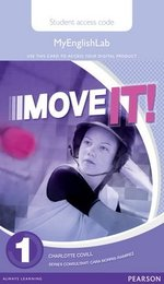 Move it! 1 MyEnglishLab Student's Internet Access Card ISBN: 9781447982654