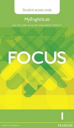 Focus 1 Elementary MyEnglishLab Student's Access Card ISBN: 9781447997641