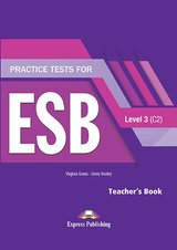 Practice Tests for ESB 3 (C2) (Revised Edition) Teacher's Book with DigiBooks App ISBN: 9781471579431