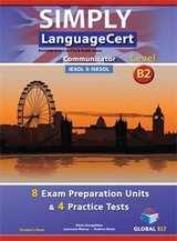 Simply LanguageCert B2 - Communicator Preparation & Practice Tests Student's Book ISBN: 9781781644089