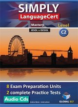 Simply LanguageCert C2 - Mastery Preparation & Practice Tests Audio CDs ISBN: 9781781645499