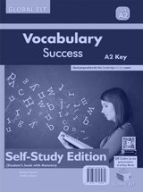 Vocabulary Success A2 Key (KET) Self-Study Edition (Student's Book with Answers) ISBN: 9781781647080