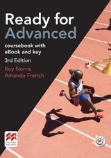 Ready for Advanced (CAE) (3rd Edition) Student's Book with Key, Macmillan Practice Online, Online Audio & eBook ISBN: 9781786327574
