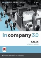 In Company 3.0 ESP Sales Teacher's Edition ISBN: 9781786328915