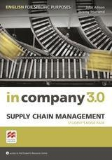 In Company 3.0 ESP Supply Chain Management Student's Pack ISBN: 9781786328922