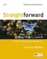 Straightforward (2nd Edition - Combo Split Edition) 1 (A2+ / Elementary) 1B Student's Book & Workbook with Workbook Audio CD ISBN: 9781786329936
