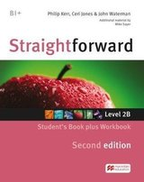 Straightforward (2nd Edition - Combo Split Edition) 2 (B1+ / Intermediate) 2B Student's Book & Workbook with Workbook Audio CD ISBN: 9781786329950