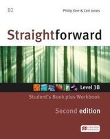 Straightforward (2nd Edition - Combo Split Edition) 3 (B2 / Upper Intermediate) 3B Student's Book & Workbook with Workbook Audio CD ISBN: 9781786329974