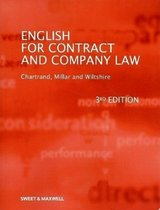 English for Contract and Company Law (3rd Edition) ISBN: 9781847034465