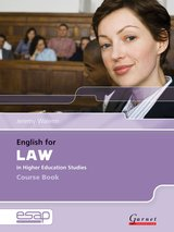 English for Law in Higher Education Studies Course Book with Audio CDs ISBN: 9781859644171