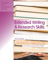 English for Academic Study (American Edition) Extended Writing & Research Skills Course Book ISBN: 9781859645482
