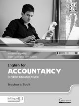 English for Accountancy in Higher Education Studies Teacher's Book ISBN: 9781859645604
