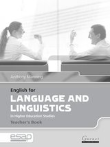 English for Language and Linguistics in Higher Education Studies Teacher's Book ISBN: 9781859649466