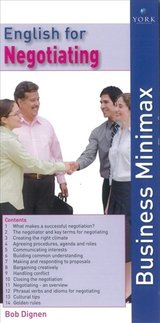 Business Minimax Folder (2nd Edition) English for Negotiating ISBN: 9781900991261