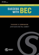 Success with BEC Higher Teacher's Book with Class Audio CD ISBN: 9781902741970