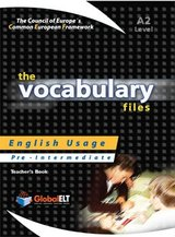 The Vocabulary Files A2 Teacher's Book (Student's Book with Overprinted Answers) ISBN: 9781904663409