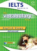 The Vocabulary Files C1 Teacher's Book (Student's Book with Overprinted Answers) (IELTS 6.0-7.0) ISBN: 9781904663461