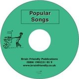 Popular Songs Audio CD (with Wordsheets) ISBN: 9781905231058