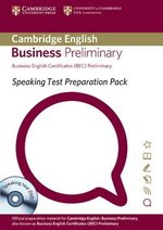 Speaking Test Preparation Pack for BEC Preliminary with DVD ISBN: 9781906438630