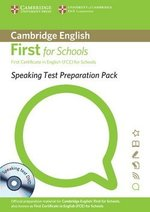 Speaking Test Preparation Pack for First Certificate in English (FCE) for Schools with DVD ISBN: 9781907870040