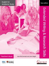 English for Academic Study (New Edition): Extended Writing & Research Skills Teacher's Book ISBN: 9781908614315